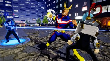 My Hero Ones Justice All Might Aizawa VS Shigaraki