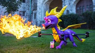 Photo of Drone em tamanho real celebra o lançamento de Spyro: Reignited Trilogy