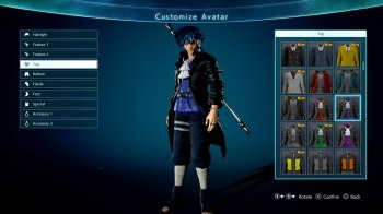 Jump Force Avatar Customization 1