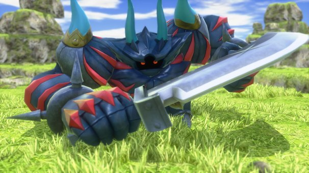 World of Final Fantasy Maxima mirage Iron Giant summon