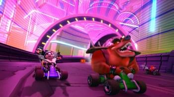 Crash Team Racing Nitro-Fueled - Crash Nitro Kart - CNK Electron Avenue