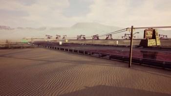 Dangerous Driving - Desert_Oilfield