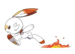 Pokemon Sword Shield - Scorbunny2_Flambino2_Hopplo