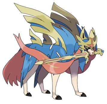 Pokemon Sword Shield - Zacian