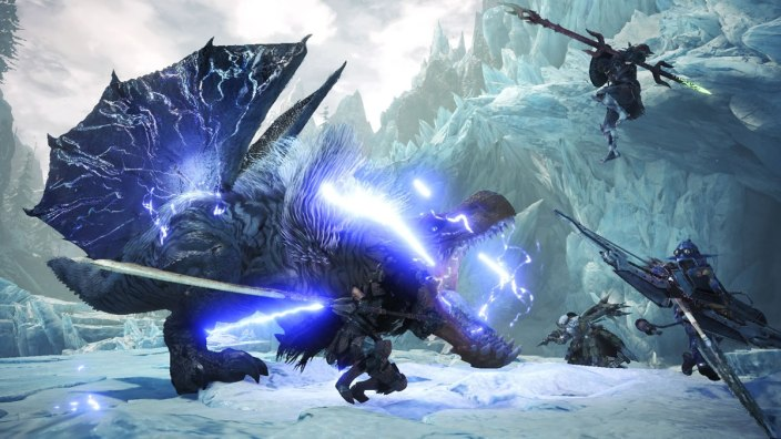 Monster Hunter World Iceborn - Fulgur Anjanath 01