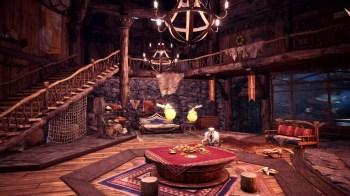 Monster Hunter World Iceborn - Your Room 01