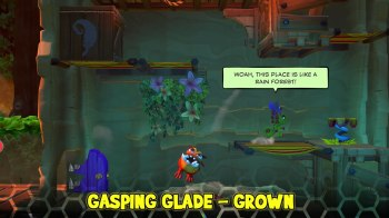 Yooka-Laylee and the Impossible Lair - Gasping Glade - Grown