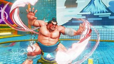 Foto de E. Honda, Lucia e Poison à caminho de Street Fighter V