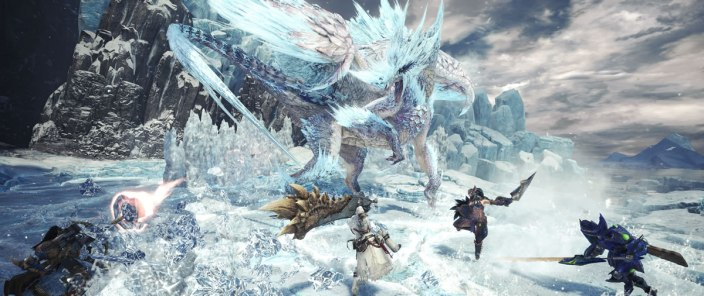 Monster Hunter World Iceborne - Velkhana01