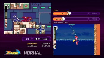 Mega Man ZeroZX Legacy Collection - Z Chaser Mode 05