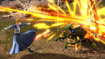 Sword Art Online Alicization Lycoris Batalhas