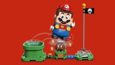 Foto de LEGO Group e Nintendo se unem para uma experiência com Super Mario