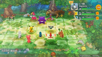 Foto de Análise | Pokémon Mystery Dungeon: Rescue Team DX