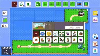 Foto de Super Mario Maker 2 ganha construção de mapas de mundos em sua atualização final