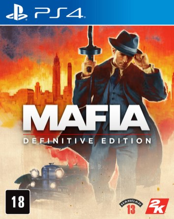 Mafia Definitive Edition Boxart PS4