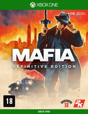 Mafia Definitive Edition Boxart XO