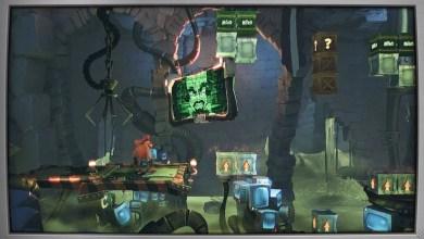 Foto de Volte aos anos 90 com o níveis Flashback em Crash Bandicoot 4: It's About Time
