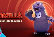 Foto de Godzilla toma forma de jujuba em Fall Guys: Ultimate Knockout a partir de 3 de novembro