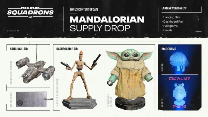 Star Wars Squadrons Mandalorian itens