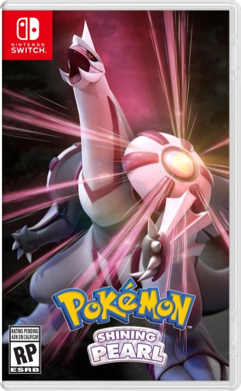 Pokemon Brilliant Diamond Boxart