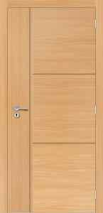 Porta de Madeira Sólida - Alto Padrão - Portas Frisadas