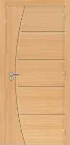 Portas de Madeira Frisadas de Alto Padrão - Internas - Sólidas