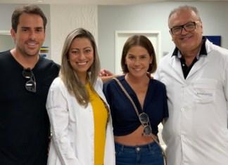 Rodrigo Branco, Janaina Ramuth, Deborah Secco e Dr Edson Ramuth