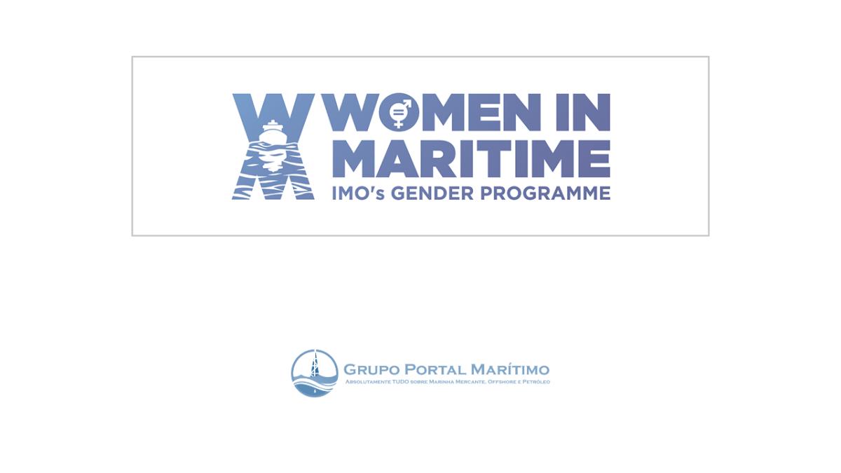 IMO lança novo logotipo para o Programa Mulheres na Marinha Mercante