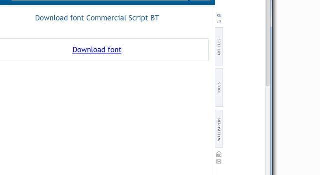 Windows - Instalar nuevo estilo de fuente en Windows - Descargar