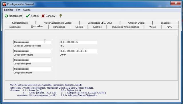 adminpaq-mascarillas-escribir-simbolos-en-rfc-curp-en-adminpaq - Escribir símbolos en RFC CURP en AdminPaq