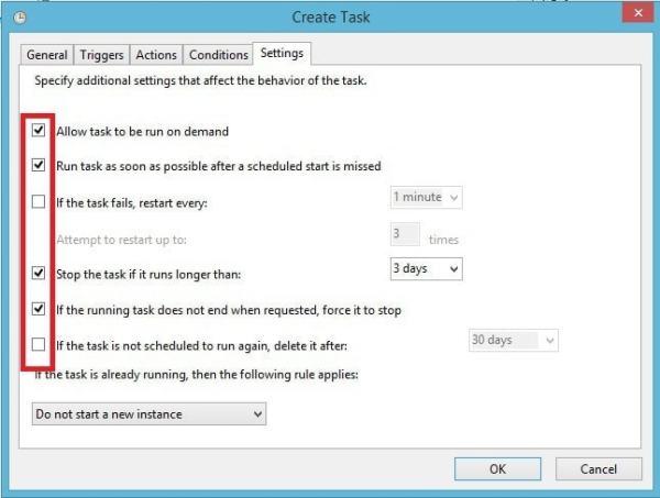 FreeFileSync - Crear respaldo de archivos - Ajustes