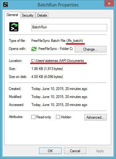 FreeFileSync - Crear respaldo de archivos - Copiar Rutas