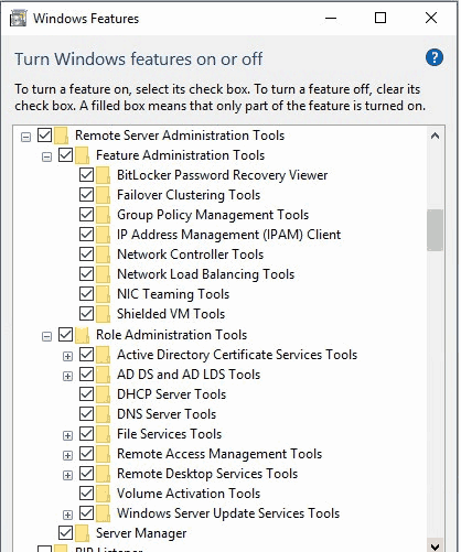 herramientas-de-administracion-remota-de-servidor-para-windows-10-windows-features