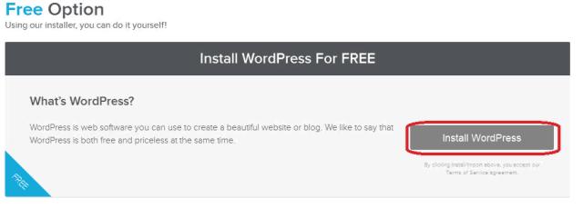 hostgator-quickinstall-free-wordpress