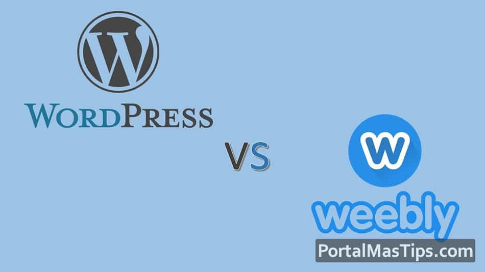 Logo wordpress vs weebly