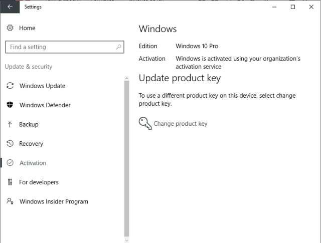 Windows 10 home a pro pro instalado