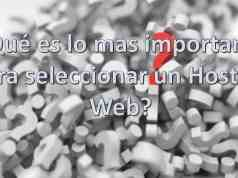Logo - Que es lo mas importante para seleccionar un Hosting Web