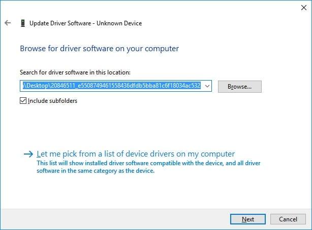 Instalar manualmente controlador Qualcomm Atheros AR3011 Bluetooth 3.0 - Buscar controlador