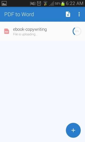 PDF to Word Converter - Convirtiendo archivo instantaneamente