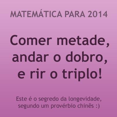 Feliz 2014 - Resoluções Matemáticas - PortalMath