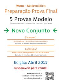 9Ano - Provas Modelo Matemática Abril 2015