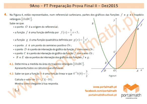 9Ano Preparação Prova Final Matemática Novo Programa