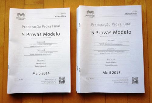 9º ano Provas Modelo Matemática