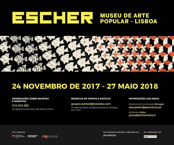 Exposição Escher Lisboa Arthemisia