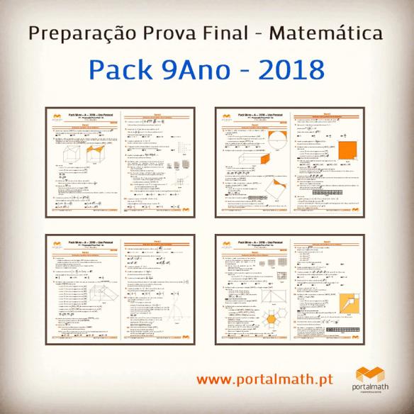 Pack 8Ano + 9Ano - 2018 portalmath preparação prova aferição final matemática exercícios com calculadora sem provas modelo fichas de trabalho