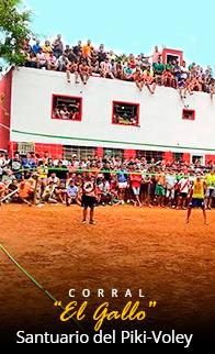 El Santuario del Piki-Volley en Piribebuy