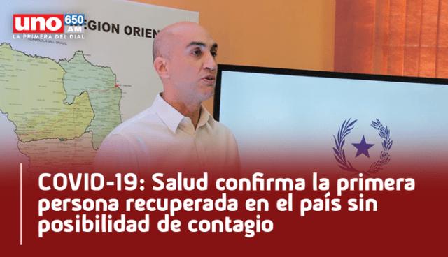 paraguay confirma curado coronavirus