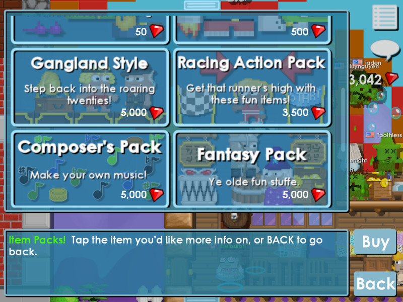 You can recieve unlimited amount of monthly event bundle for growtopia. Growtopia para Android - Descargar Gratis
