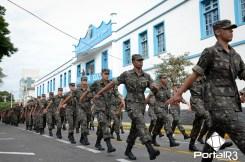 Dia do Exército em Pindamonhangaba. (Foto: Luis Claudio Antunes/PortalR3)