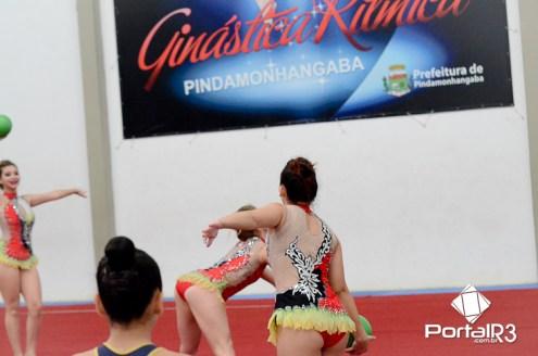 Intercâmbio de ginástica rítmica entre Pindamonhangaba e Osasco. (Foto: Luis Claudio Antunes/PortalR3)